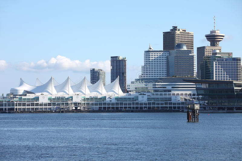 BC加拿大安排温哥华 库存照片