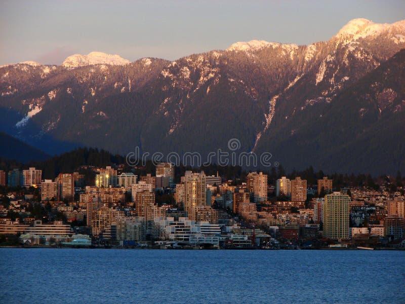 BC加拿大温哥华 库存图片