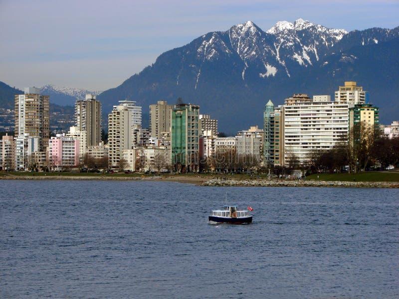 BC加拿大温哥华 图库摄影