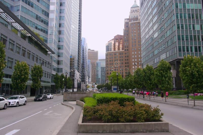 BC加拿大街市温哥华 免版税库存图片