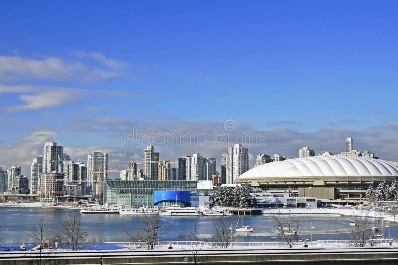 BC安置体育场温哥华 免版税库存图片