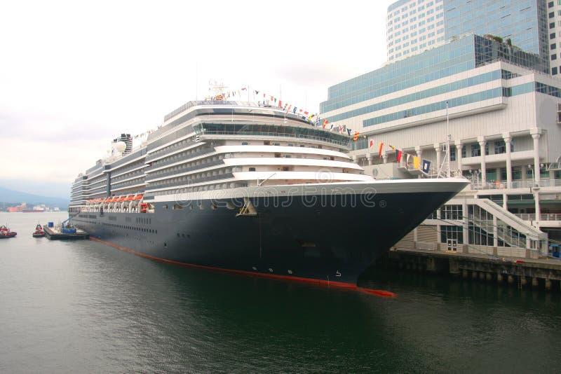 bc корабль причаленный круизом vancouver стоковые фото