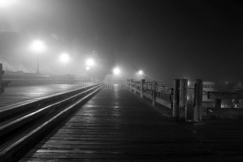 BC Boardwalk royalty free stock photography