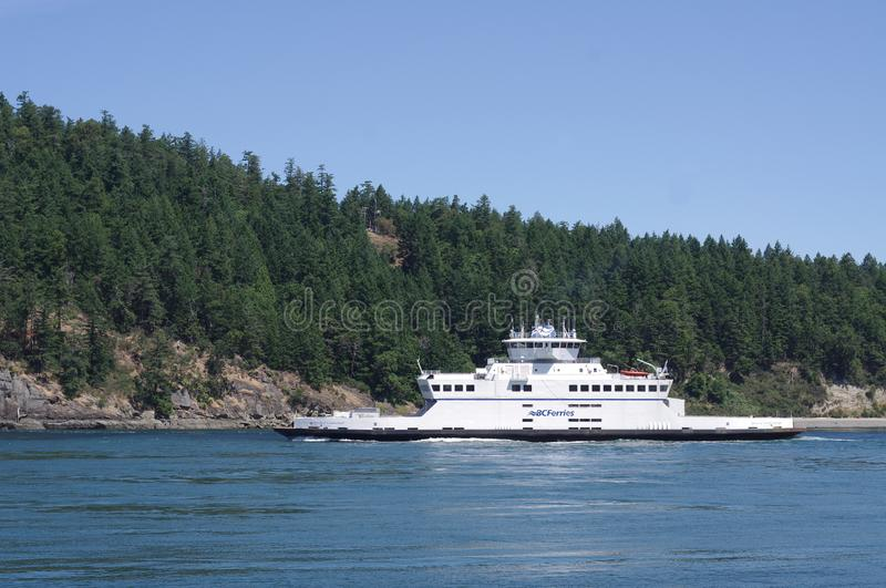 BC Ferries ship `Mayne Queen` stock photography