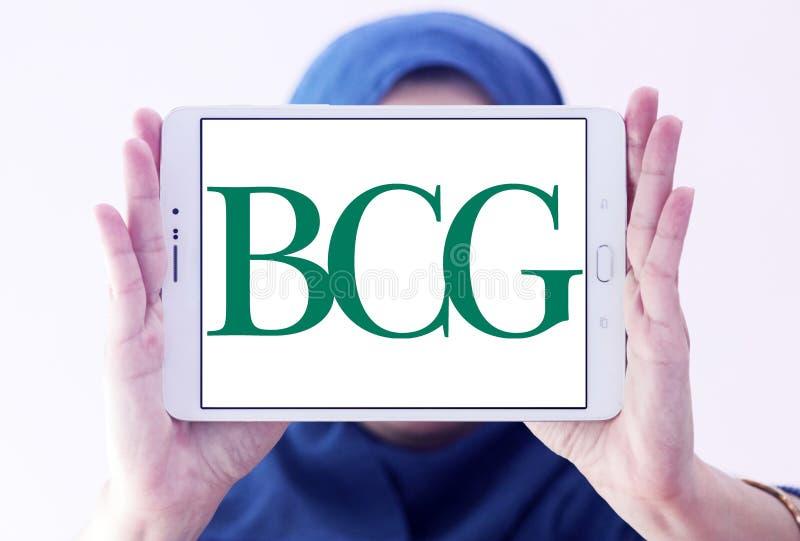 BCG, logotipo de Boston Consulting Group fotografía de archivo libre de regalías
