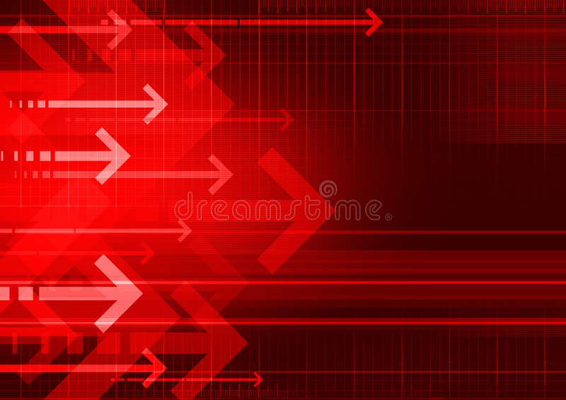 Bckgrnd Arrows Red Stock Images