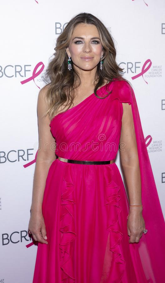 BCRF 2019 Hot Pink Party arrivals stock photography