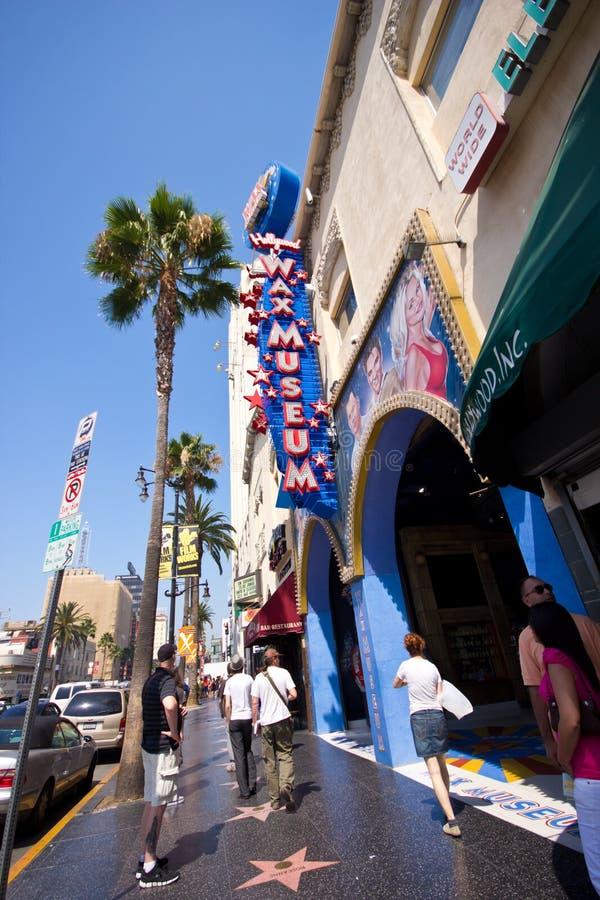 Bd. CA de Hollywood images libres de droits
