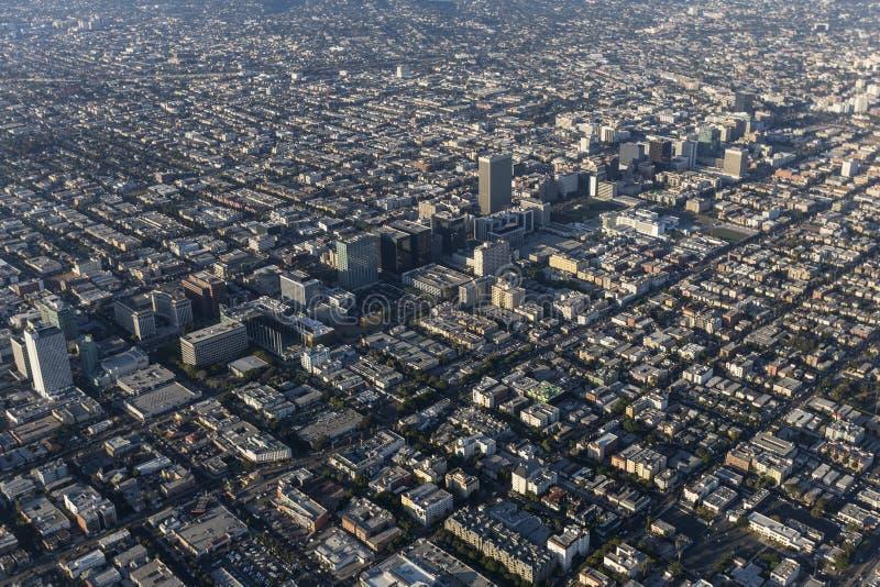 Bd. de Los Angeles Wilshire et région de Koretown photo stock