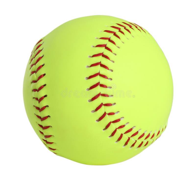 Beísbol con pelota blanda imágenes de archivo libres de regalías
