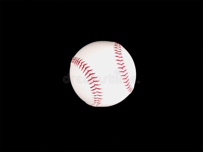 Beísbol con pelota blanda o béisbol imagenes de archivo