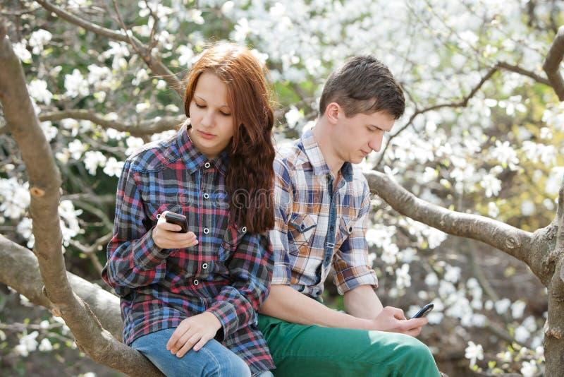 Bełt między kochankami zdjęcia royalty free