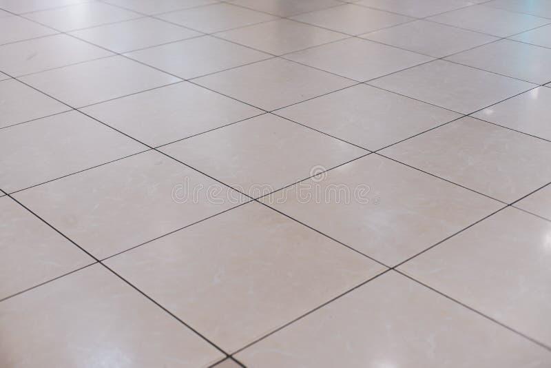 Beż płytka na podłodze zdjęcie stock