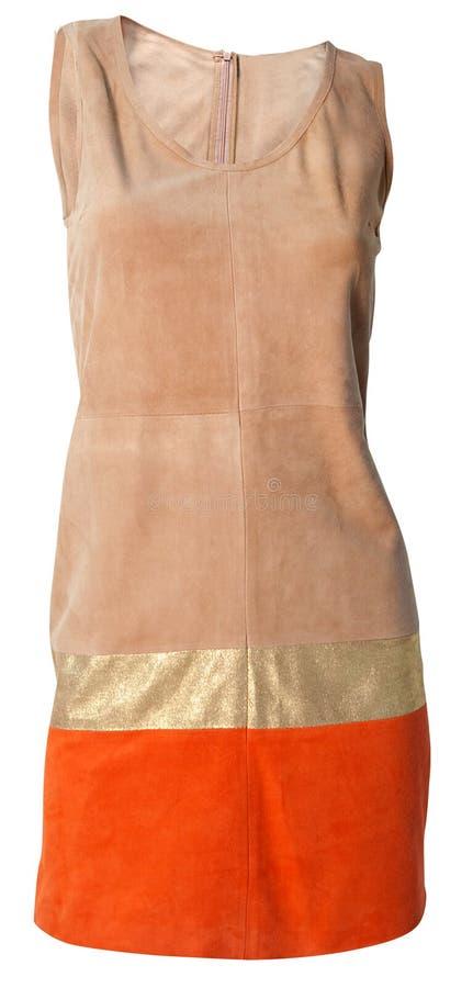 beż suknia zdjęcie royalty free