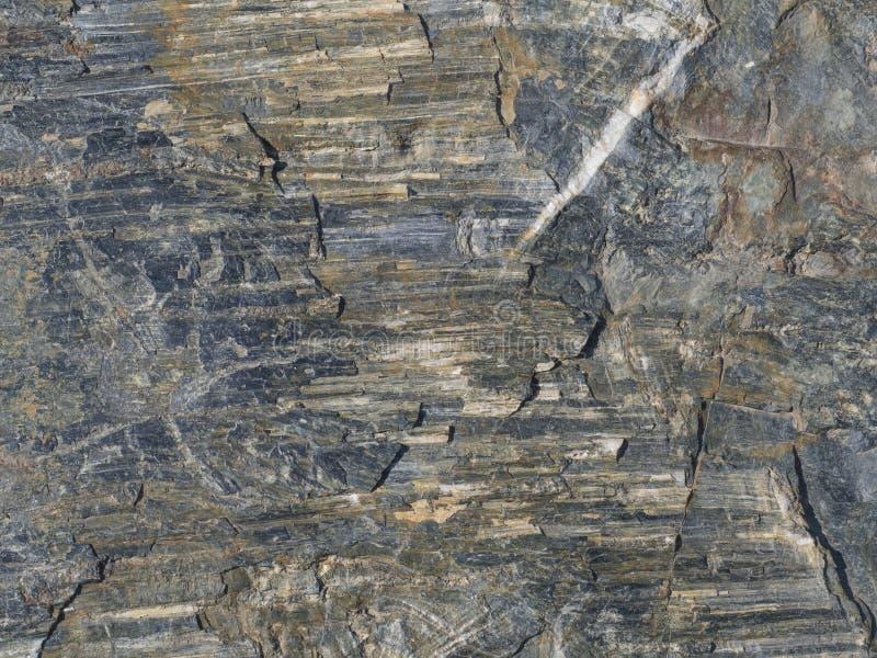 Beżowa brown szara okrzesana Tuff skała robić powulkanicznego popiółu tekst zdjęcie stock