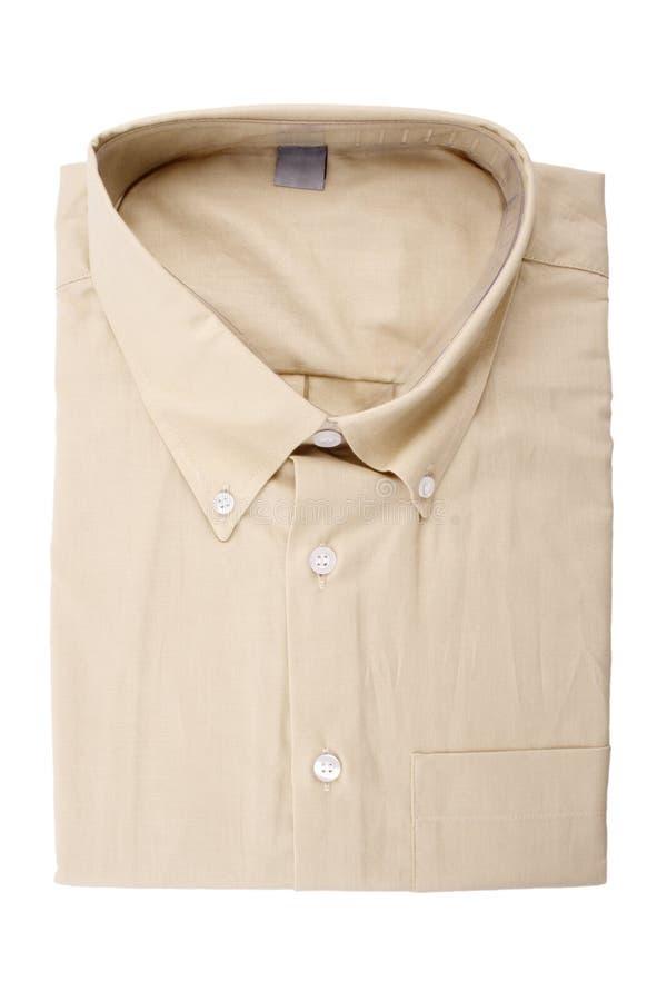 Beżowa koszula zdjęcie stock
