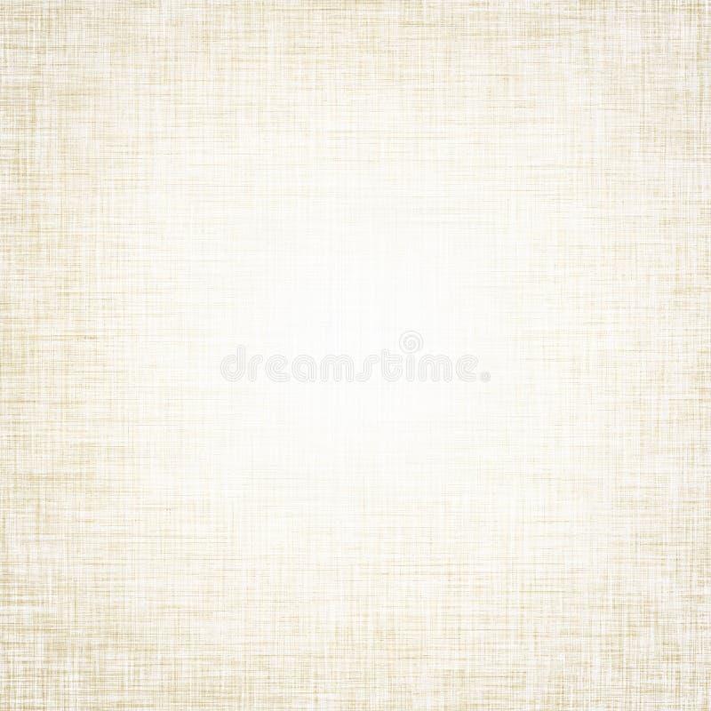 Beżowego tła wzoru brezentowa tekstura obrazy stock