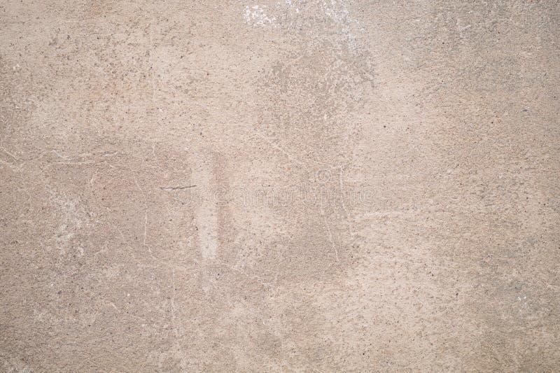 Beżowy kremowy tło piaska tynk zdjęcia royalty free