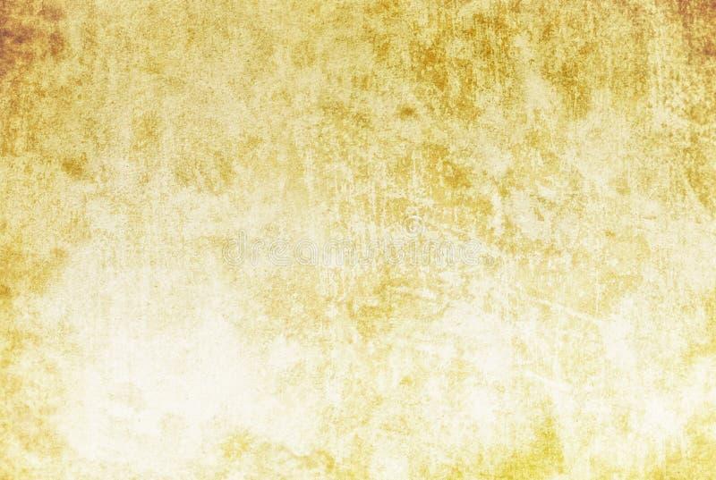 Beżowy rocznika tło, smugi, stara papierowa tekstura, grunge, retro, rocznik, puste miejsce, punkty, brąz antykwarski, szorstki,  royalty ilustracja