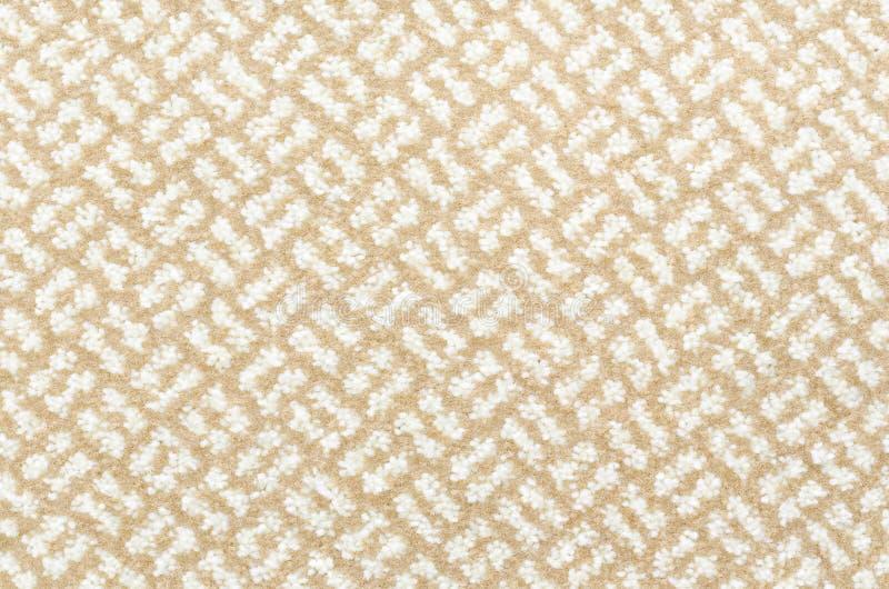 Beżu i biel dywan obrazy royalty free