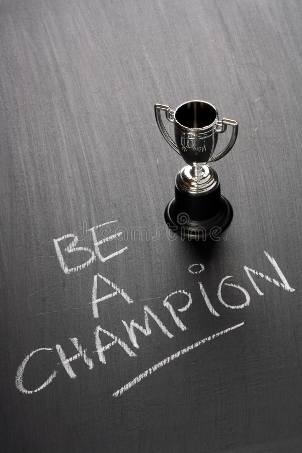 Free Be A Champion Stock Images - 40831634