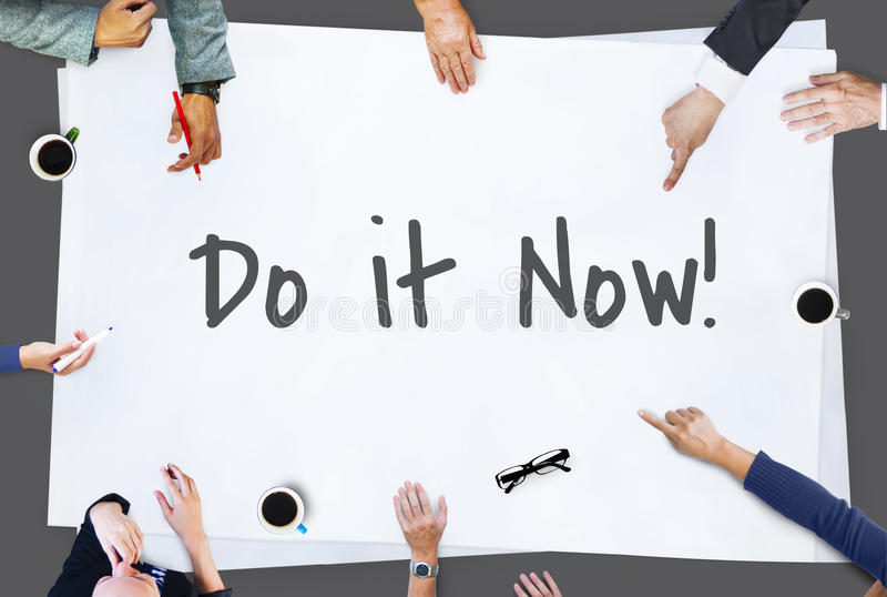 Be Brave Encouragement Time to Act Motivation Aspirations Conceppt. Be Brave Encouragement Time to Act Motivation Aspirations royalty free stock photography