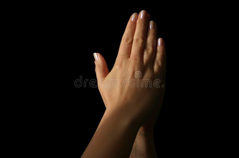 be för händer royaltyfria foton