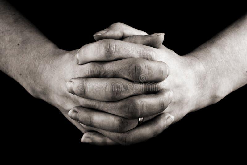 be för händer fotografering för bildbyråer