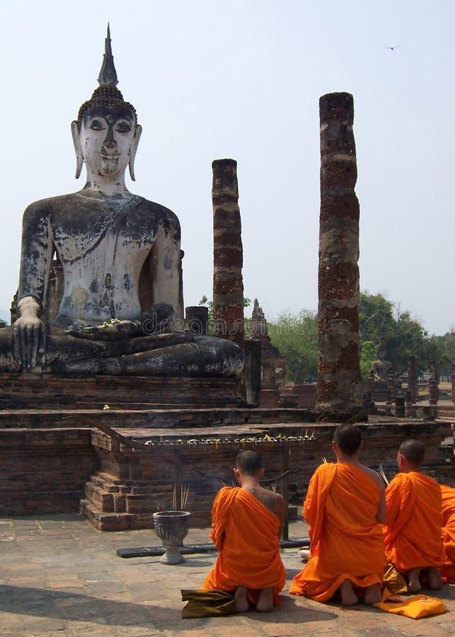be för monks royaltyfria foton