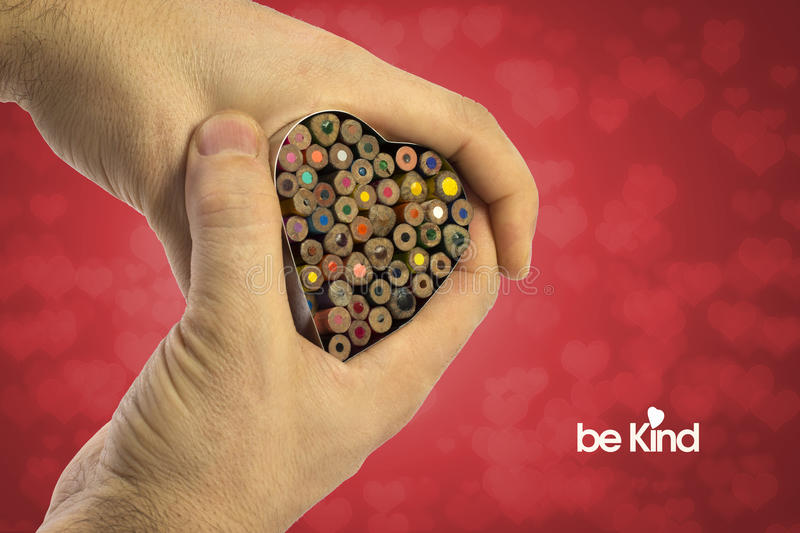 Be Kind stock image