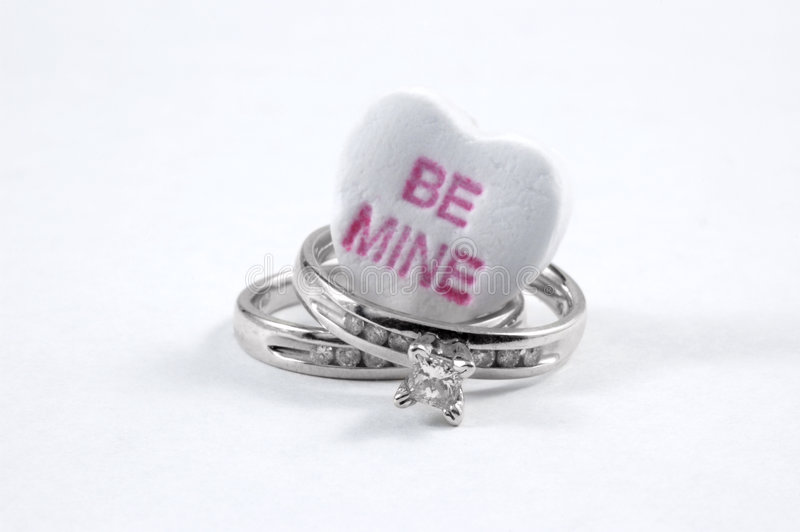 Be mine royalty free stock photos