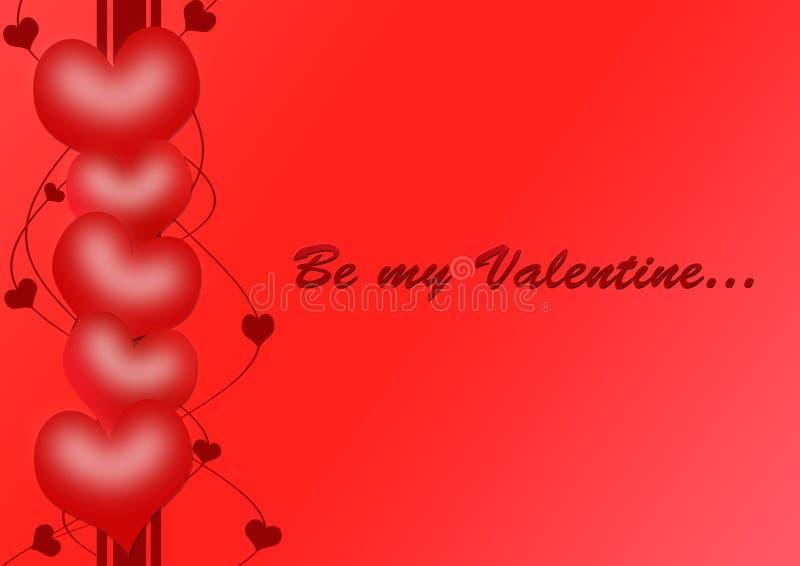 Download Be my Valentine stock illustration. Illustration of celebration - 12843759