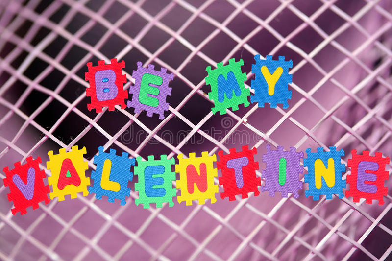Download Be my valentine stock image. Image of isolated, text - 17959033