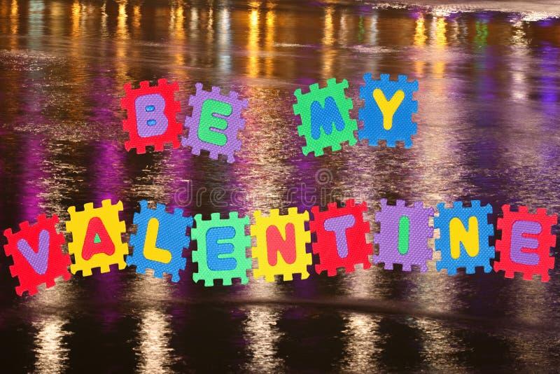 Download Be my valentine stock image. Image of valentine, alphabet - 17959137