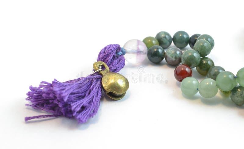 Be pärlor för Beautifu ljade royaltyfri foto