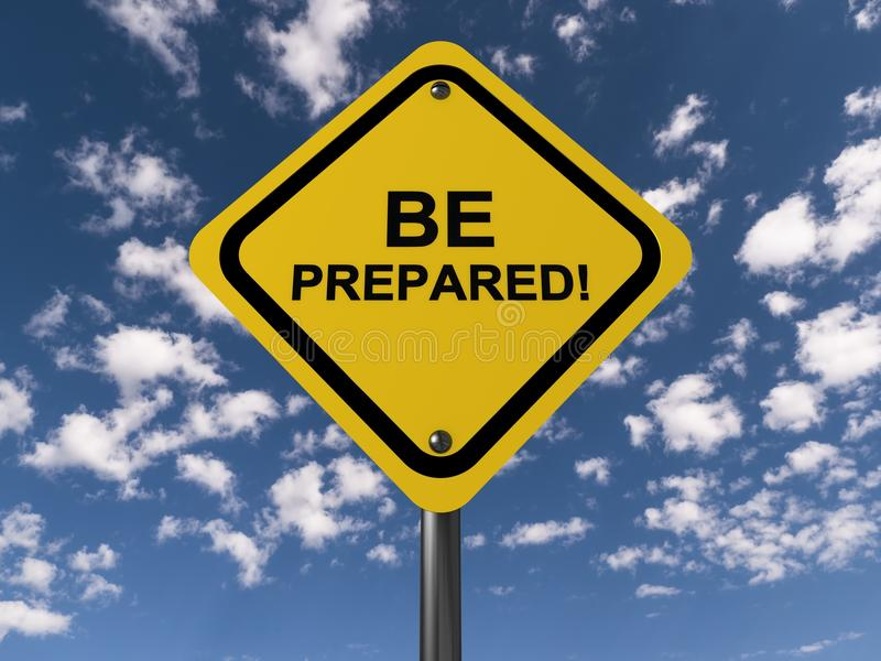Be prepared royalty free stock image