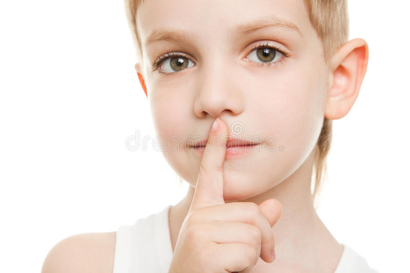 Download Be quiet stock photo. Image of caucasian, censor, face - 19599880