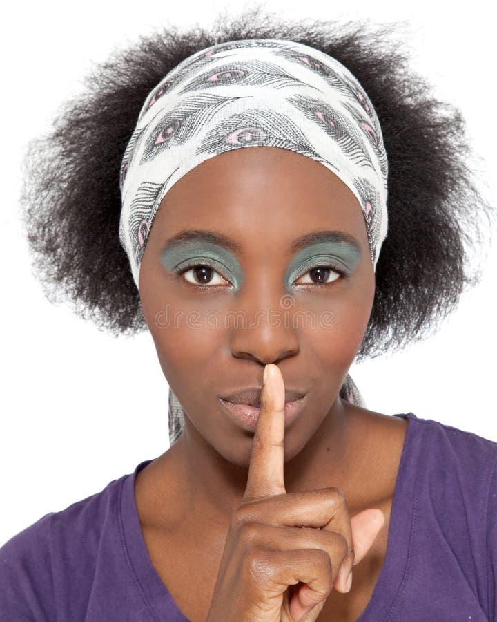 Be quiet! royalty free stock photo