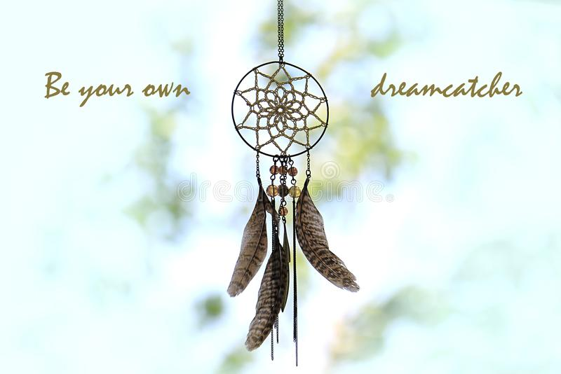 Be Your Own Dreamcatcher royalty free stock image