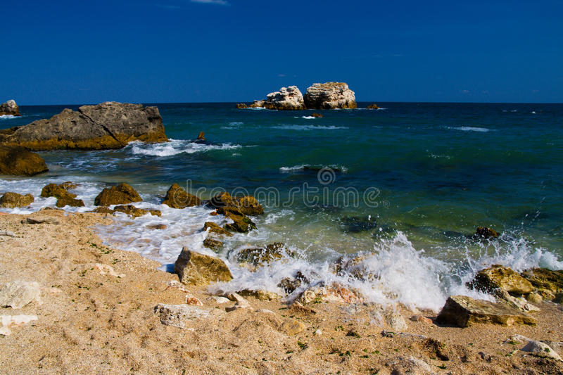 Download Beach stock photo. Image of signals, holiday, sands, tourism - 10474548