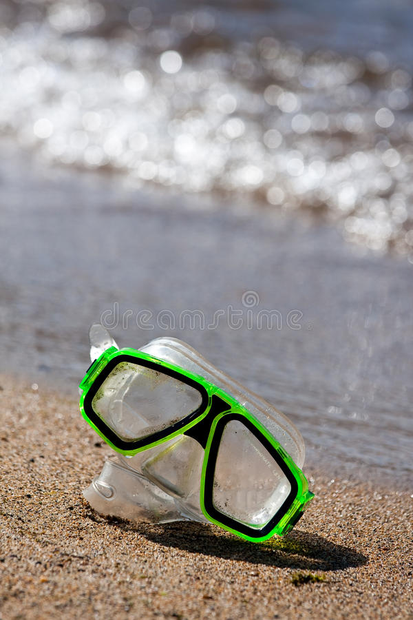 Download Beach stock image. Image of goggles, waves, snorkeling - 10644541