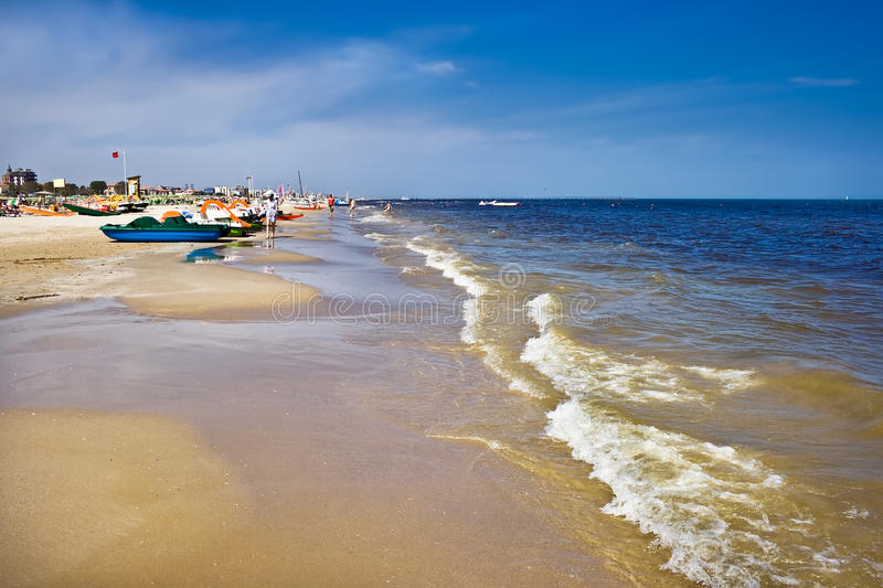 Download Beach stock image. Image of italy, shore, ripple, ocean - 11435943