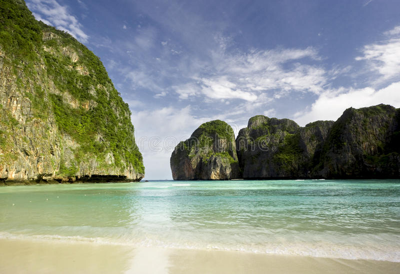 Download The Beach stock photo. Image of secluded, island, travel - 11561056