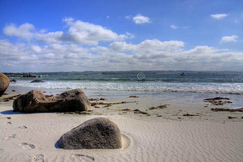 Download Beach stock photo. Image of stone, boulder, water, landscape - 12430686