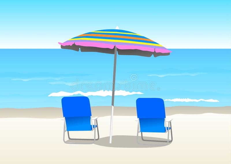 Beach stock illustration