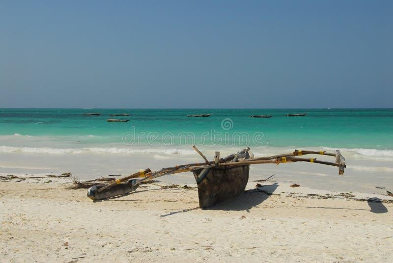 Beach. Kiwengwa beach in Zanzibar, Tanzania stock photos
