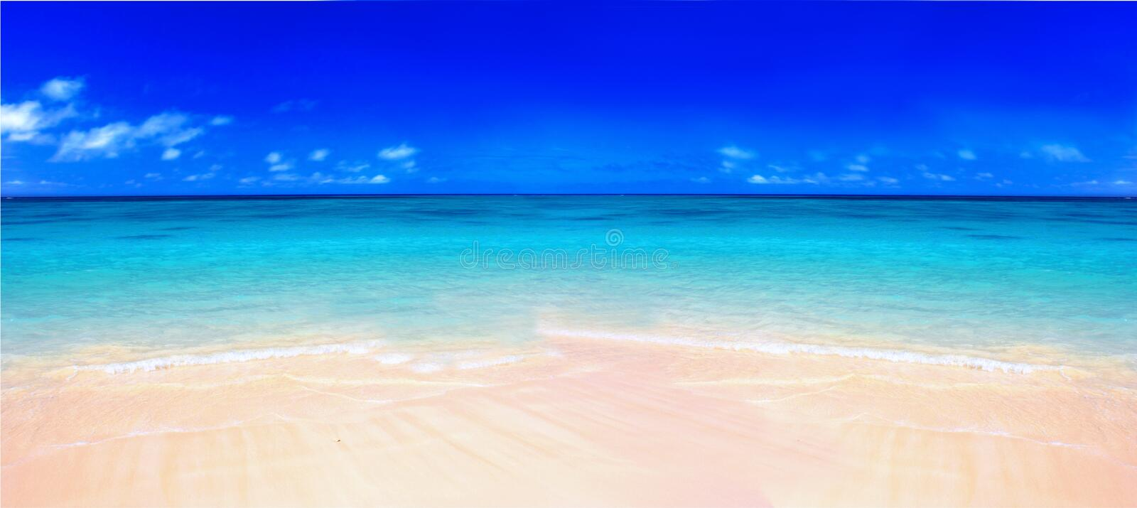 Download The beach stock image. Image of tranquil, tropical, summer - 1636189