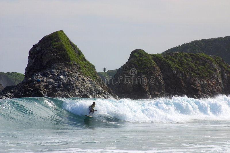 Download Beach stock image. Image of outdoor, play, force, surfer - 1722761