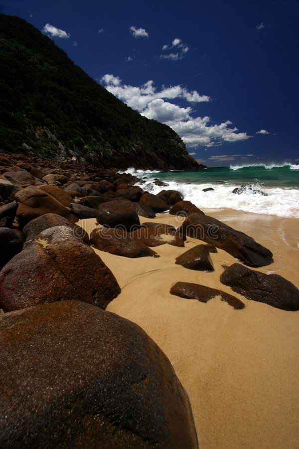 The Beach royalty free stock photo