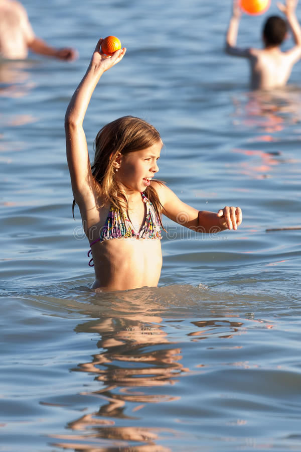 Download Beach stock image. Image of girl, active, caucasian, holiday - 22787563